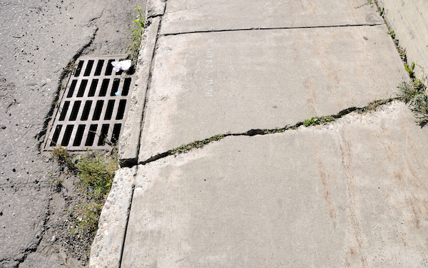 Five Hazards of Cracked Concrete