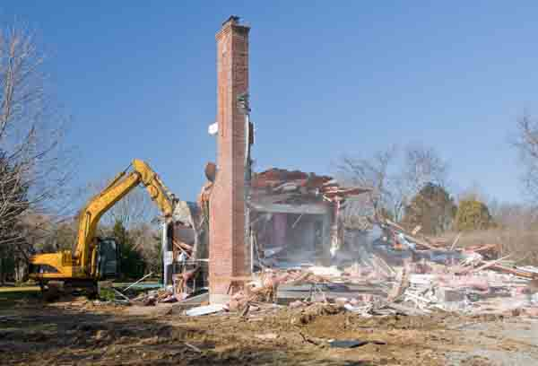 Chimney And Smokestack Demolition