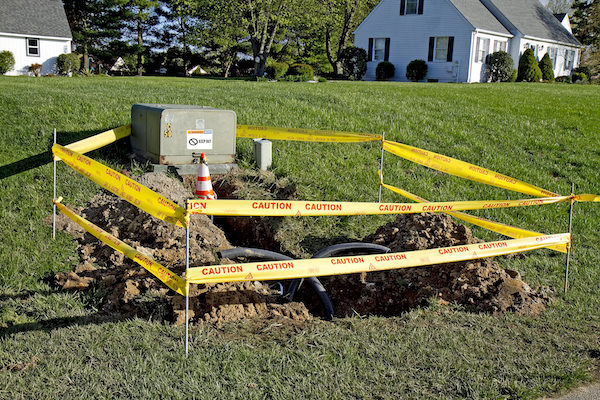 Locate Utility Lines Before Excavation